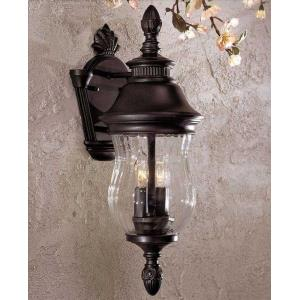 "Newport - 18.25"" Two Light Outdoor Wall Mount"