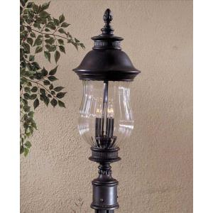 Newport - Three Light Outdoor Post Mount