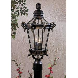 Stratford Hall - Two Light Outdoor Post Mount