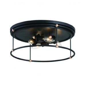 Westchester County - 4 Light Flush Mount - 6.75 inches tall by 16.5 inches wide