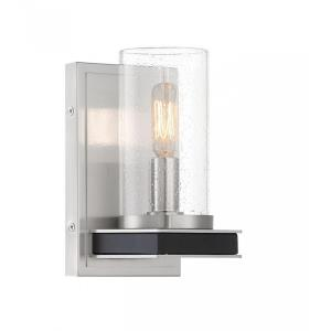 Cole's Crossing - 1 Light Wall Sconce - 8.25 inches tall by 5 inches wide
