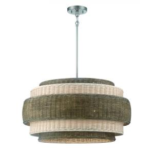 Montauck Bay - 4 Light Convertible Pendant - 13.75 inches tall by 20 inches wide