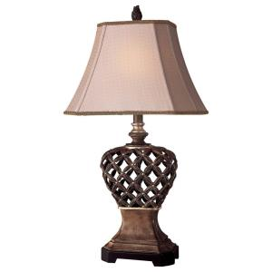 "16"" One Light Portable Table Lamp"