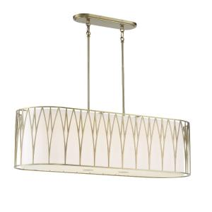 Regal Terrace - 6 Light LED Linear Island Light - 24 inches tall by 41.88 inches wide