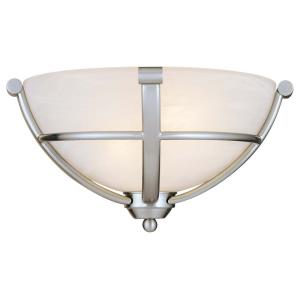 Paradox - 2 Light Wall Sconce in Transitional Style - 7 inches tall by 13 inches wide