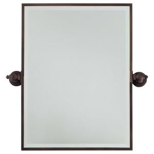 "24"" Rectangular Beveled Mirror"