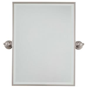 Rectangular Beveled Mirror in Traditional Style - 24 inches tall by 18 inches wide