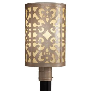 Nanti - 1 Light Outdoor Post Mount - 18.5 inches tall by 9.5 inches wide