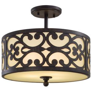 Nanti - Three Light Semi-Flush Mount