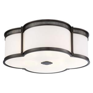 1 LED Flush Mount in Transitional Style - 7.5 inches tall by 22 inches wide