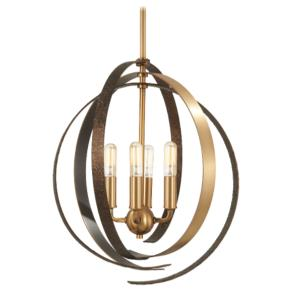 Criterium - 4 Light Pendant in Contemporary Style - 17.25 inches tall by 16 inches wide