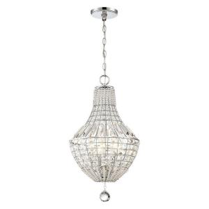 Braiden - 4 Light Pendant in Transitional Style - 22.75 inches tall by 13 inches wide
