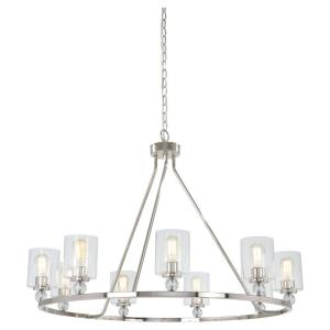 Studio 5 - Nine Light Chandelier (bulbs incl.)