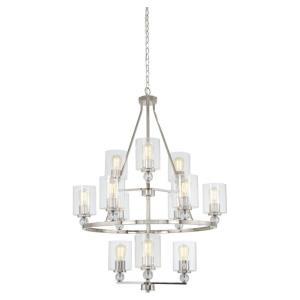 Studio 5 - Twelve Light 3-Tier Chandelier (bulbs incl.)