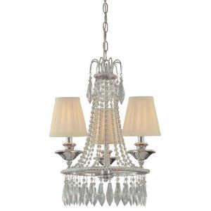 16 Inch Three Light Mini Chandelier