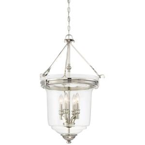 Audrey'S Point - Four Light Convertible Semi-Flush Mount