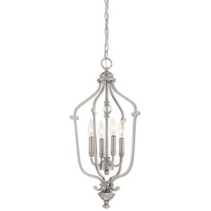 "Savannah Row - 24.5"" Four Light Chandelier"