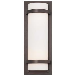 2 Light Wall Sconce in Transitional Style - 17.25 inches tall by 6.5 inches wide