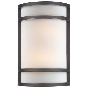 2 Light Wall Sconce in Contemporary Style - 12 inches tall by 8 inches wide