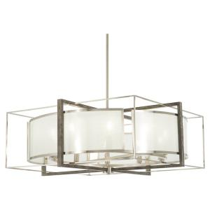 Tyson's Gate - Twelve Light Pendant in Transitional Style - 30 inches tall by 20 inches wide