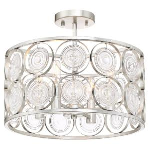 Culture Chic - Four Light Semi-Flush Mount