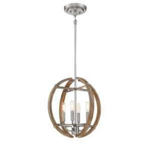 Country Estates - Four Light Pendant