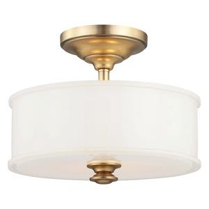 Harbour Point - Two Light Semi-Flush Mount