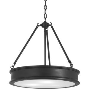 Harbour Point - Pendant 3 Light in Transitional Style - 18.5 inches tall by 19 inches wide