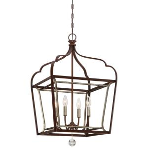 Astrapia - Four Light Foyer Pendant