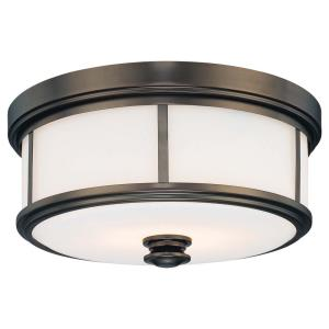 Harvard Court - Two Light Flush Mount