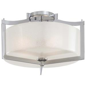 Clarte - Three Light Semi-Flush Mount