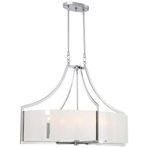 Clarte - Six Light Oval Pendant