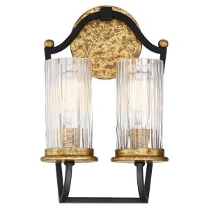 Posh Horizon - Two Light Wall Sconce