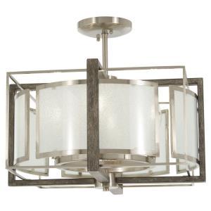 Tyson'S Gate - Six Light Convertible Semi-Flush Mount