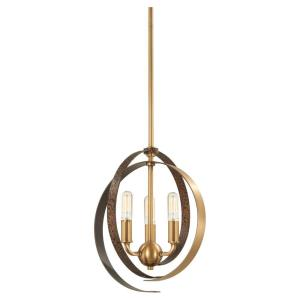 Criterium - 6 Light Pendant in Contemporary Style - 25.75 inches tall by 24 inches wide