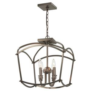 Jupiter's Canopy - 4 Light Pendant in Transitional Style - 17 inches tall by 16 inches wide