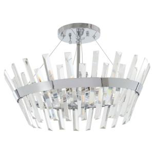 Echo Radiance - Six Light Semi-Flush Mount