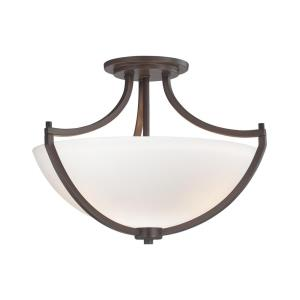 Middlebrook - Three Light Semi-Flush Mount