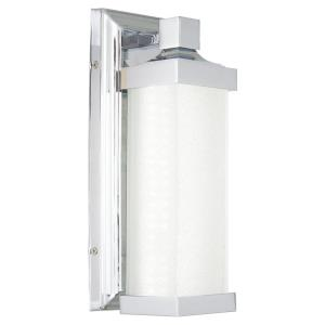 15W 1 LED Wall Sconce in Traditional Style - 13 inches tall by 4.75 inches wide
