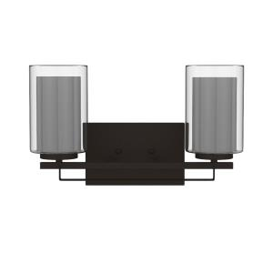Parsons Studio - 2 Light Bath Bar in Transitional Style - 8.75 inches tall by 15 inches wide