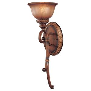 Illuminati - 1 Light Wall Sconce in Traditional Style - 23.25 inches tall by 8 inches wide