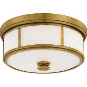16 Inch Three Light Flush Mount