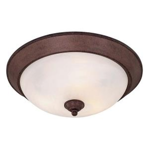 "Paradox - 6"" Three Light Flush Mount"