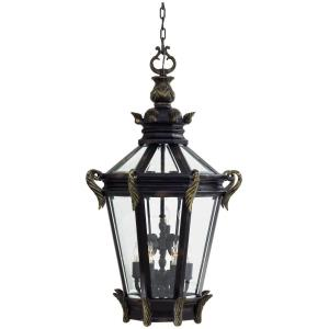 Stratford Hall - 9 Light Outdoor Chain Hung Lantern in Traditional Style - 46 inches tall by 25 inches wide
