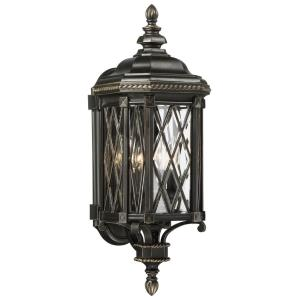 Bexley Manor - 25.25 Inch Four Light Outdoor Wall Lantern