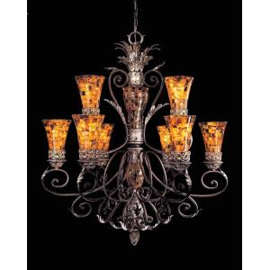 Salamanca - Nine Light 2-Tier Chandelier