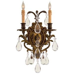 """15.75"""" Two Light Wall Sconce"""