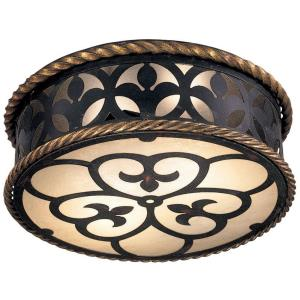 Montparnasse - Two Light Flush Mount