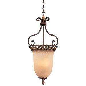 "Zaragoza - 39"" Three Light Pendant"