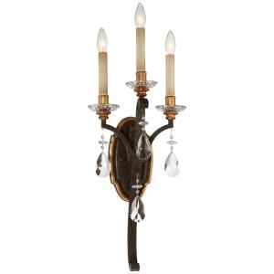 Chateau Nobles - Three Light Wall Sconce